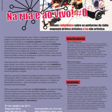 Dialogos Transdisciplinares – Mauro Sá Rego Costa e Maria Luiza Fragoso