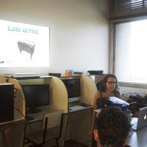 Laura Basile apresentação sobre a técnica