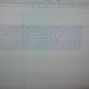 Desenho dos cortes
