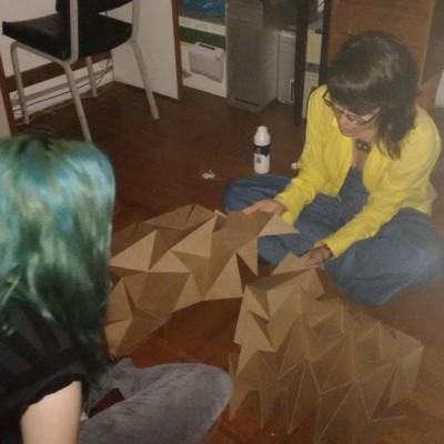 Montando protótipo em escala 1:1